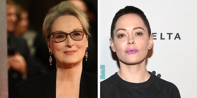 La longue lettre de Meryl Streep à Rose McGowan qui l'accuse d'avoir gardé le silence sur