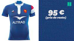 Made in France, le nouveau maillot du XV de France n'est pas plus cher que celui des Bleus fait à