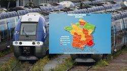SNCF: Les régions où les retards de train ont empiré (et les rares où ça s'est