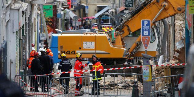 Les secours à l'oeuvre à Marseille le 7