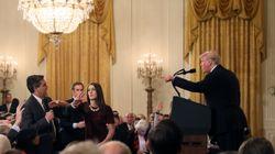 Houspillé par Trump, un journaliste de CNN viré de la Maison