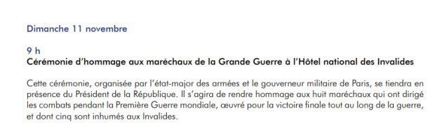 Le 18 septembre, Emmanuel Macron devait assister à une cérémonie militaire honorant les 8 maréchaux de...