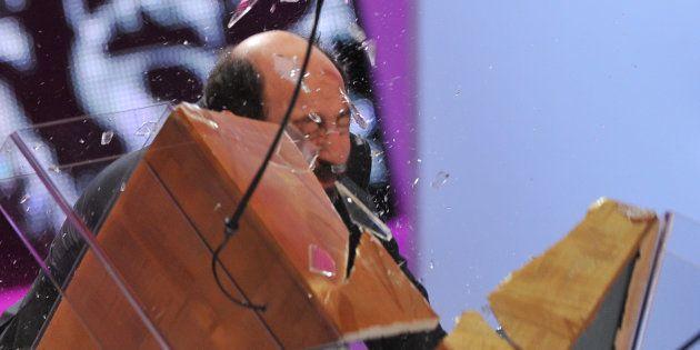 L'acteur Kad Merad s'était fait remarquer lors de la 37e cérémonie des César avec une entrée fracassante...