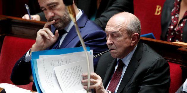 Gérard Collomb à l'Assemblée nationale le 13