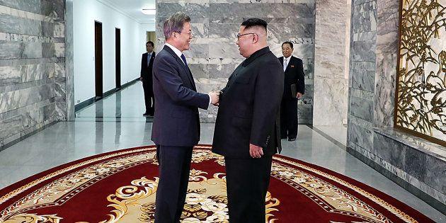 Kim Jong-un a rencontré son homologue sud-coréen pour parler notamment du sommet avec