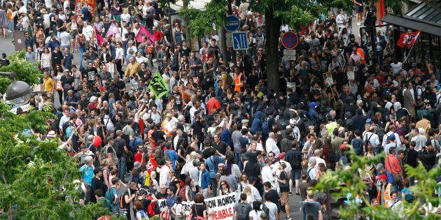 Marée populaire à Paris le 26