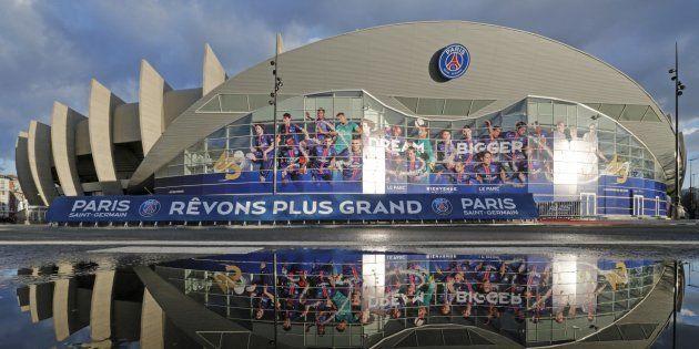 Le Parc des Princes à Paris, où évolue le PSG à