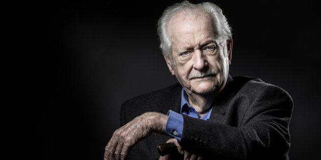 Pierre Bellemare, ici en novembre 2016 à Paris, est mort à 88