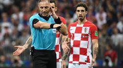 L'arbitre de France-Croatie revient sur le penalty accordé aux