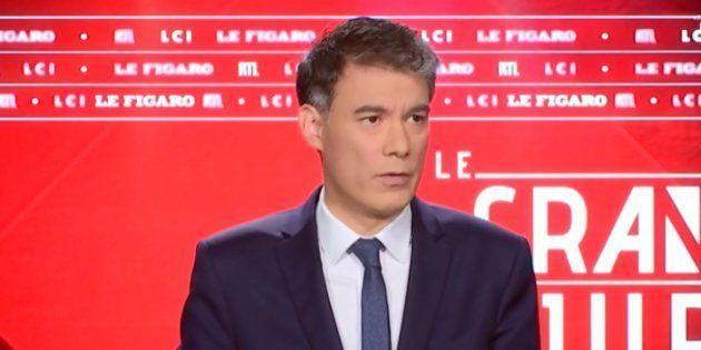 Olivier Faure sur le plateau du Grand Jury sur RTL ce dimanche 27