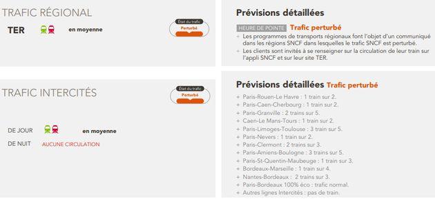 Grève SNCF: les prévisions de trafic du lundi 28 mai pour les TGV, TER et