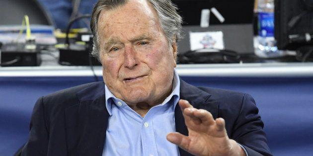George Bush Senior, ancien président des États-Unis, à nouveau