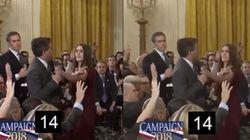 L'attachée de presse de Trump a-t-elle diffusé une vidéo