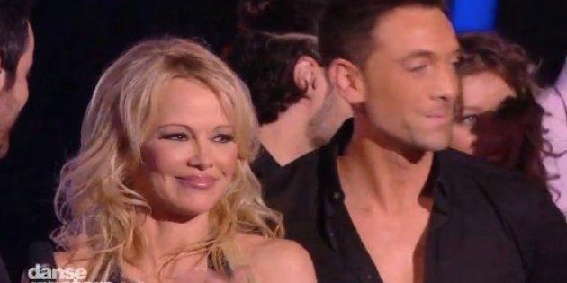 Pamela Anderson sur le plateau