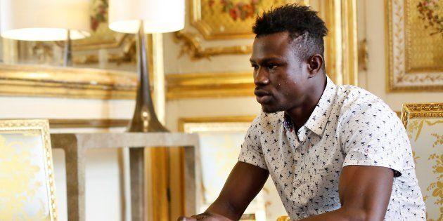 Macron annonce que Mamoudou Gassama va