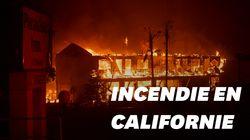 Les images folles du nouveau feu de forêt qui ravage la