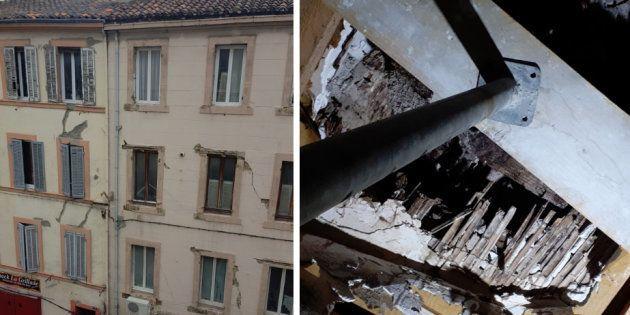 Après les effondrements d'immeubles à Marseille, #BalanceTonTaudis dénonce l'état de certains