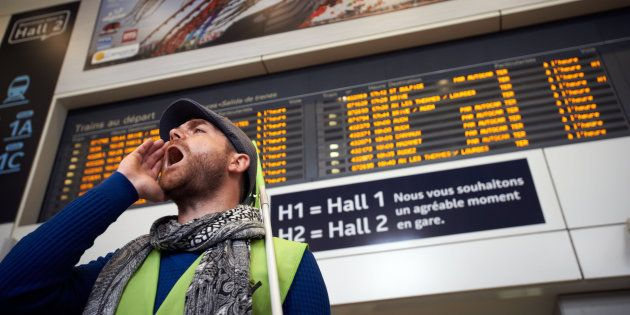 Grève SNCF: le taux de cheminots grévistes au plus bas depuis le début du