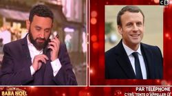 Cyril Hanouna appelle Emmanuel Macron en direct pour son