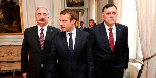 Libye: Comment Emmanuel Macron tente (encore) de jouer le