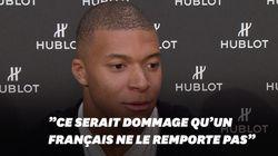 Mbappé croit en ses chances pour le Ballon
