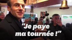 Macron a eu du mal à engager la conversation dans ce PMU près de