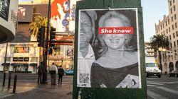 Meryl Streep visée par des affiches l'accusant d'avoir gardé le silence dans l'affaire