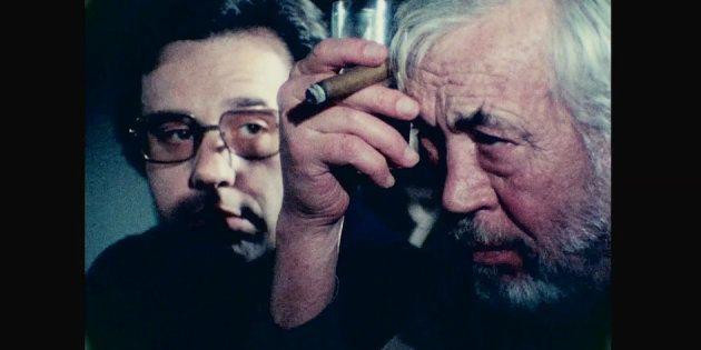 Netflix a terminé le dernier film inachevé d'Orson Welles. (Photo: Peter Bogdanovich et John