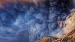 Cette photo glaçante montrant l'évacuation de Malibu devient