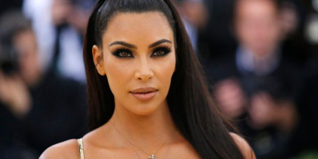 Kim Kardashian lors du Met Gala le 7 mai 2018 (photo