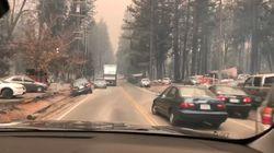 L'incendie en Californie laisse un paysage digne d'un film d'apocalypse