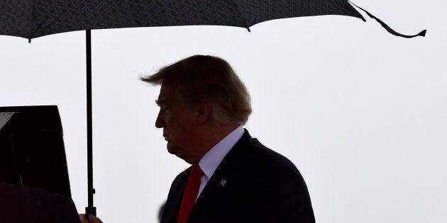 Donald Trump (ici le 9 octobre dans le Nebraska) ne se rendra pas au cimetière américain de Bois