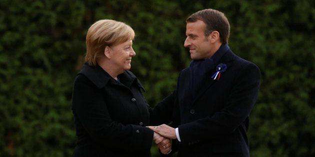 Emmanuel Macron et Angela Merkel ont célébré la réconciliation