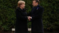 Macron célèbre la paix à Rethondes, Le Pen la victoire à