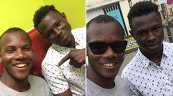 Mamoudou Gassama a rencontré le héros de l'Hyper Cacher pour lui demander des