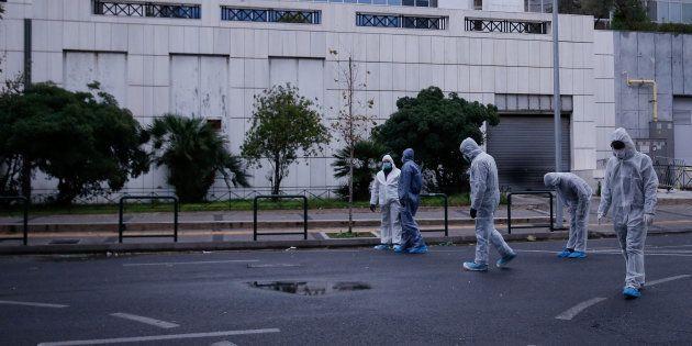 Un engin explose devant un tribunal d'Athènes sans faire de
