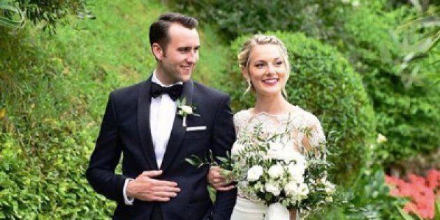 Matthew Lewis et Angela Jones se sont mariés en