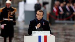 Devant Trump et Poutine, Macron s'inquiète que
