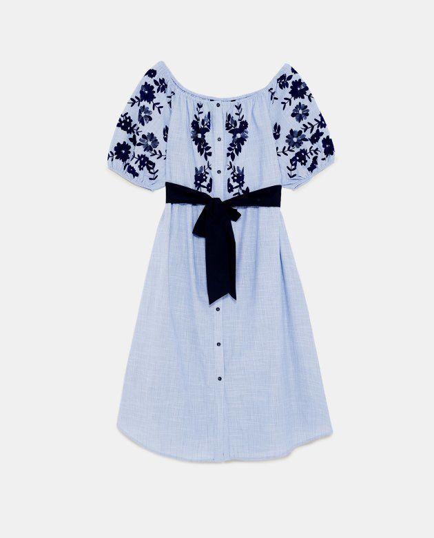 f6b513383c2 Une robe Zara portée par Kate Middleton en rupture de stock en  Grande-Bretagne (