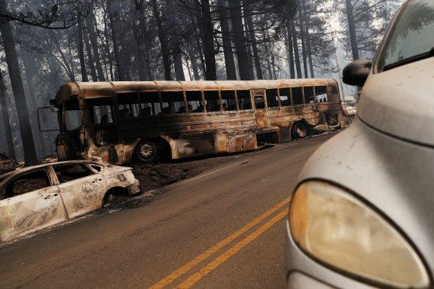 Le bilan des incendies en Californie est le plus lourd enregistré dans cet