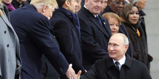 Ce que se sont dit Trump et Poutine lors de leur discussion à l'Élysée
