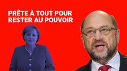 Ces attaques contre Merkel que Martin Schulz va devoir