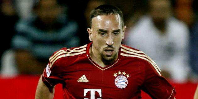 Franck Ribéry n'a pas su se contenir après la défaite 3-2 du Bayern Munich à Dortmund du samedi 10 novembre...