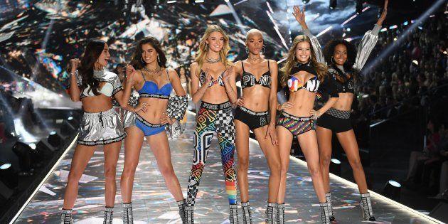 Défilé Victoria's Secret le 8 novembre à New York.