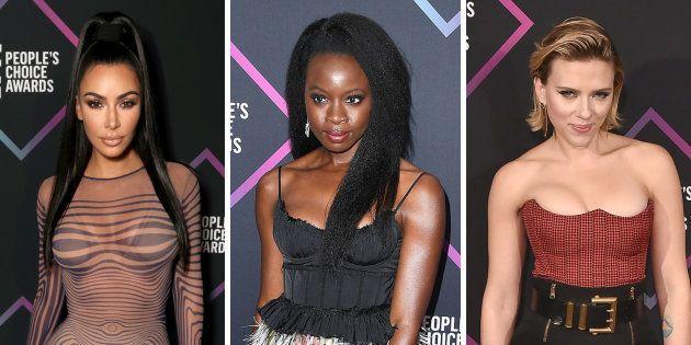 Kim Kardashian, Danai Gurira et Scarlett Johansson aux People Choice