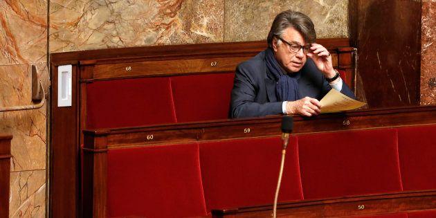 Le député apparenté FN Gilbert