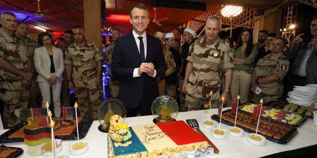 Emmanuel Macron au Niger pour réveillonner avec les troupes