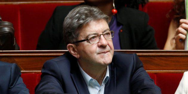 Jean-Luc Mélenchon à l'Assemblée nationale en juillet