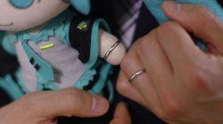 Ce Japonais a épousé la chanteuse virtuelle Hatsune