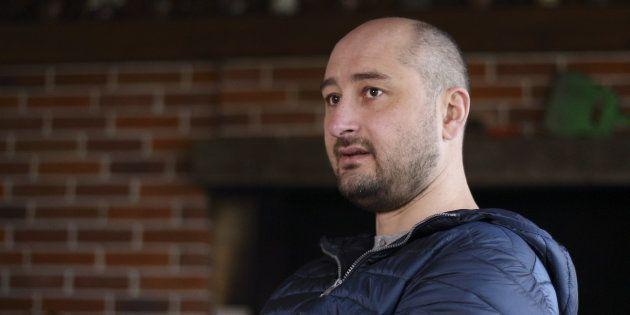 Arkadi Babtchenko, un journaliste russe très critique de Moscou assassiné par balles en